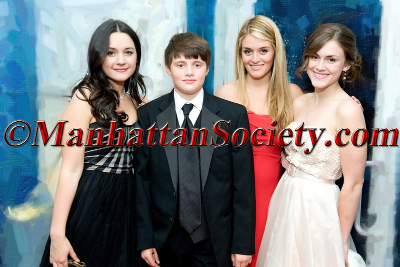 "Arabella Oz, Oliver Oz, Daffney Oz, Zoe Oz attend HEALTHCORPS' Fifth Annual Gala ""Fresh From The Garden"" on Wednesday, April 13, 2011 at Intrepid Sea, Air & Space Museum, Pier 86 at 46th Street & 12th Avenue, New York, NY  PHOTO CREDIT: Copyright ©Manhattan Society.com 2011"