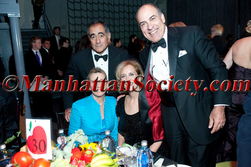 """John Mack, Christy Mack,  Defne Kent, Muhtar Kent attend HEALTHCORPS' Fifth Annual Gala """"Fresh From The Garden"""" on Wednesday, April 13, 2011 at Intrepid Sea, Air & Space Museum, Pier 86 at 46th Street & 12th Avenue, New York, NY  PHOTO CREDIT: Copyright ©Manhattan Society.com 2011"""