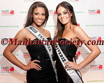 "Miss Teen USA Kamie Crawford, Miss Universe, Ximena Navarrete attend HEALTHCORPS' Fifth Annual Gala ""Fresh From The Garden"" on Wednesday, April 13, 2011 at Intrepid Sea, Air & Space Museum, Pier 86 at 46th Street & 12th Avenue, New York, NY  PHOTO CREDIT: Copyright ©Manhattan Society.com 2011"