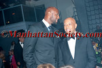 "Alonzo Mourning, Russell Simmons attends HEALTHCORPS' Fifth Annual Gala ""Fresh From The Garden"" on Wednesday, April 13, 2011 at Intrepid Sea, Air & Space Museum, Pier 86 at 46th Street & 12th Avenue, New York, NY  PHOTO CREDIT: Copyright ©Manhattan Society.com 2011"