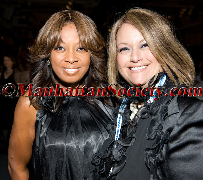 """Star Jones, Roberta Bouer attend HEALTHCORPS' Fifth Annual Gala """"Fresh From The Garden"""" on Wednesday, April 13, 2011 at Intrepid Sea, Air & Space Museum, Pier 86 at 46th Street & 12th Avenue, New York, NY  PHOTO CREDIT: Copyright ©Manhattan Society.com 2011"""
