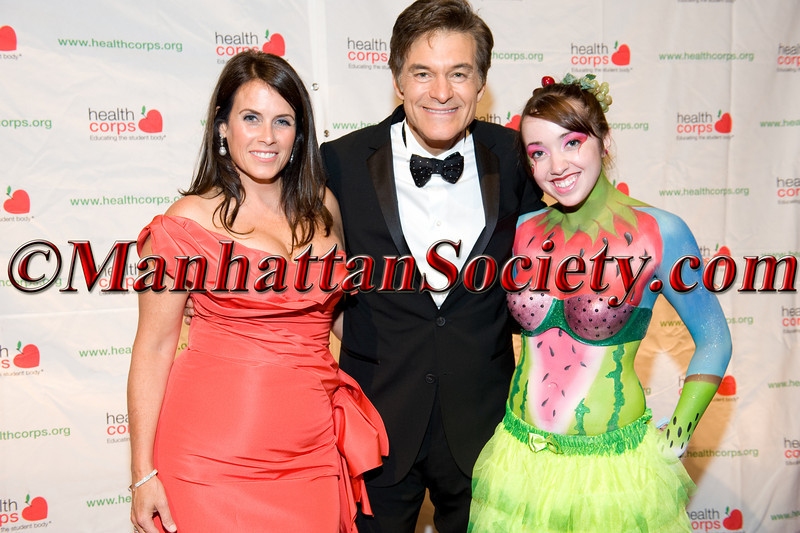 """Lisa Oz, Dr. Mehmet Oz, Lauren Rae Chismar attend HEALTHCORPS' Fifth Annual Gala """"Fresh From The Garden"""" on Wednesday, April 13, 2011 at Intrepid Sea, Air & Space Museum, Pier 86 at 46th Street & 12th Avenue, New York, NY  PHOTO CREDIT: Copyright ©Manhattan Society.com 2011"""