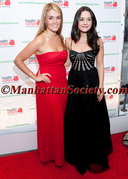 """Daphne Oz, Arabella Oz attend HEALTHCORPS' Fifth Annual Gala """"Fresh From The Garden"""" on Wednesday, April 13, 2011 at Intrepid Sea, Air & Space Museum, Pier 86 at 46th Street & 12th Avenue, New York, NY  PHOTO CREDIT: Copyright ©Manhattan Society.com 2011"""