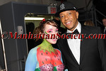 "Lauren Rae Chismar, Russell Simmons attend HEALTHCORPS' Fifth Annual Gala ""Fresh From The Garden"" on Wednesday, April 13, 2011 at Intrepid Sea, Air & Space Museum, Pier 86 at 46th Street & 12th Avenue, New York, NY  PHOTO CREDIT: Copyright ©Manhattan Society.com 2011"