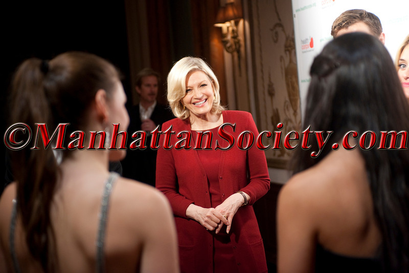 DSC_7445 Diane Sawyer candid with Oz Family at Health Corps 6th Annual Gala