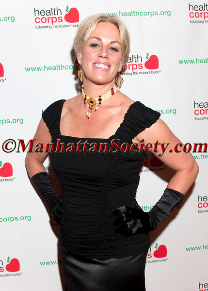 """New York –April 18: Michelle Bouchard attends HEALTHCORPS' Sixth Annual Gala """"Garden of Angels"""" at the Waldorf Astoria Hotel on Wednesday, April 18, 2012 in New York City.  PHOTO CREDIT: © 2012 Manhattan Society.com by Christopher London"""