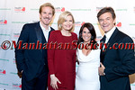 "New York –April 18: Honorees: Matthew Modine & Diane Sawyer with, Lisa Oz, Dr. Mehmet Oz at HEALTHCORPS' Sixth Annual Gala ""Garden of Angels"" at the Waldorf Astoria Hotel on Wednesday, April 18, 2012 in New York City PHOTO CREDIT: © 2012 Manhattan Society.com by Gregory Partanio"