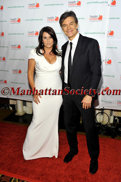 """New York –April 18: Lisa Oz, Dr. Mehmet Oz  at HEALTHCORPS' Sixth Annual Gala """"Garden of Angels"""" at the Waldorf Astoria Hotel on Wednesday, April 18, 2012 in New York City PHOTO CREDIT: © 2012 Manhattan Society.com by Joe Corrigan"""