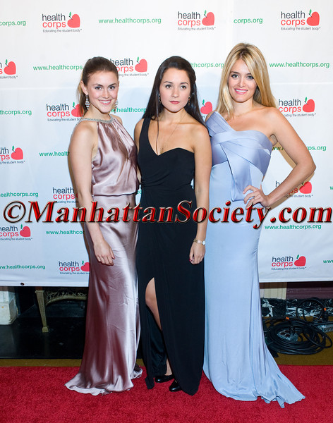 "New York –April 18: Zoe Oz, Arabella Oz, Daphne Oz attend HEALTHCORPS' Sixth Annual Gala ""Garden of Angels"" at the Waldorf Astoria Hotel on Wednesday, April 18, 2012 in New York City.  PHOTO CREDIT: © 2012 Manhattan Society.com by Gregory Partanio"