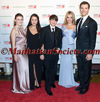 "New York –April 18: Zoe Oz, Arabella Oz, Oliver oz, Daphne Oz, John Jovanovic attend HEALTHCORPS' Sixth Annual Gala ""Garden of Angels"" at the Waldorf Astoria Hotel on Wednesday, April 18, 2012 in New York City.  PHOTO CREDIT: © 2012 Manhattan Society.com by Gregory Partanio"