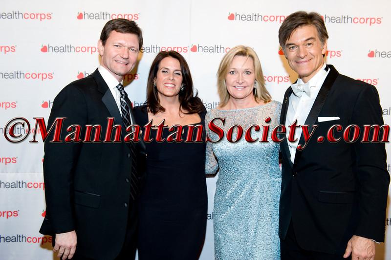 Mr & Mrs TJ Higgins, Lisa Oz, Dr  Oz