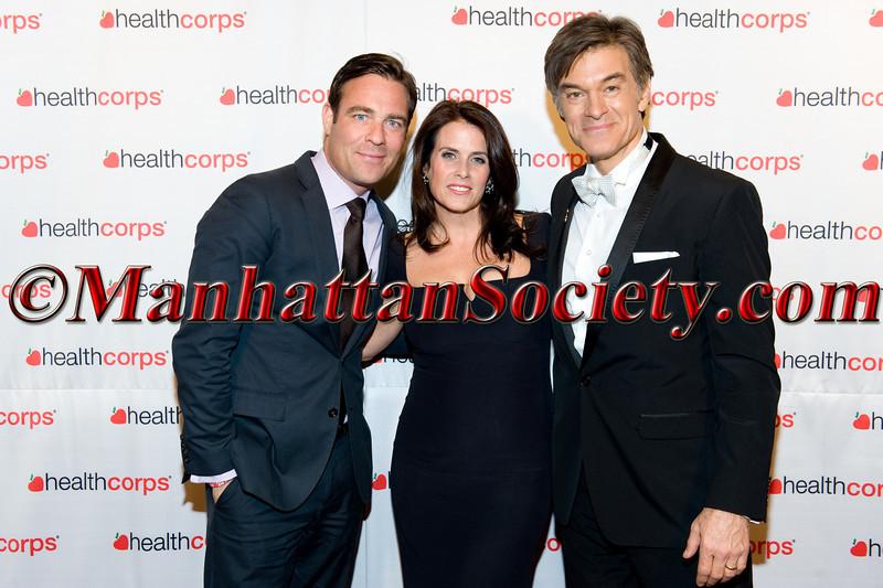 Crispin Baynes, Lisa Oz, Dr  Oz