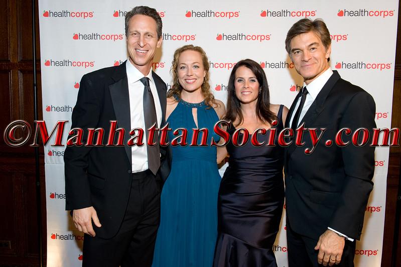 Mr  & Mrs  Mark Hyman, Lisa Oz, Dr  Oz