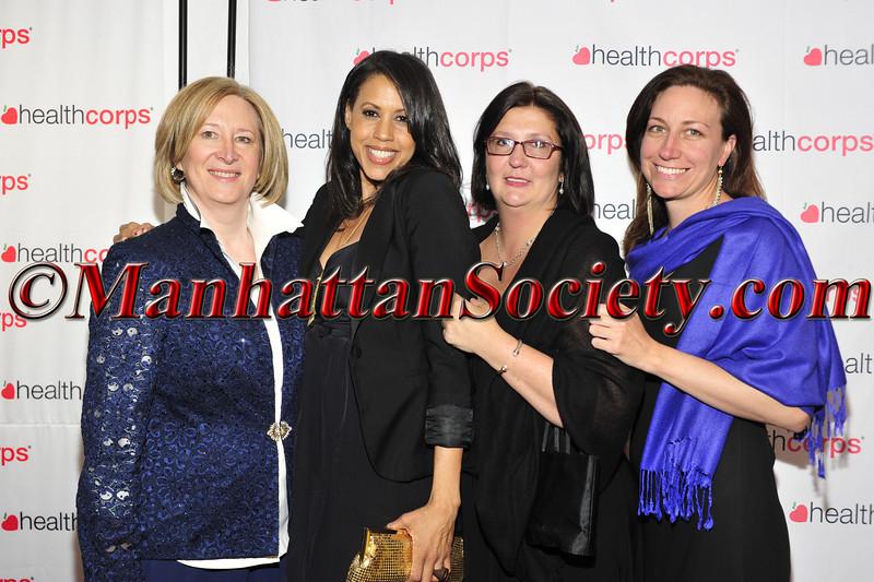Susan Wagner, Denise Bowdwin, Donna O'Sullivan and Laura Swan