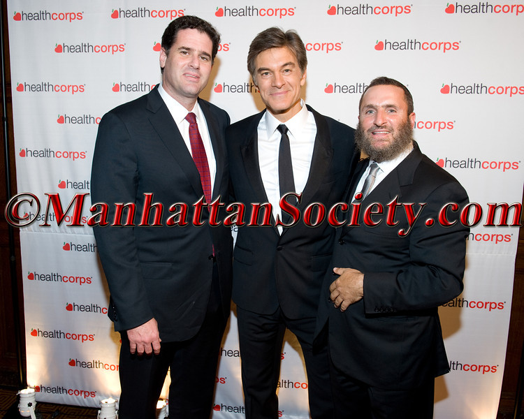 Rabbi Shmuley Boteach & Friend, Dr  Oz