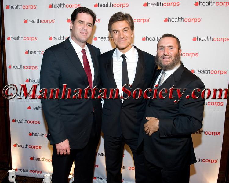 Rabbi Shmuley Boteach & Friend, Dr  Oz