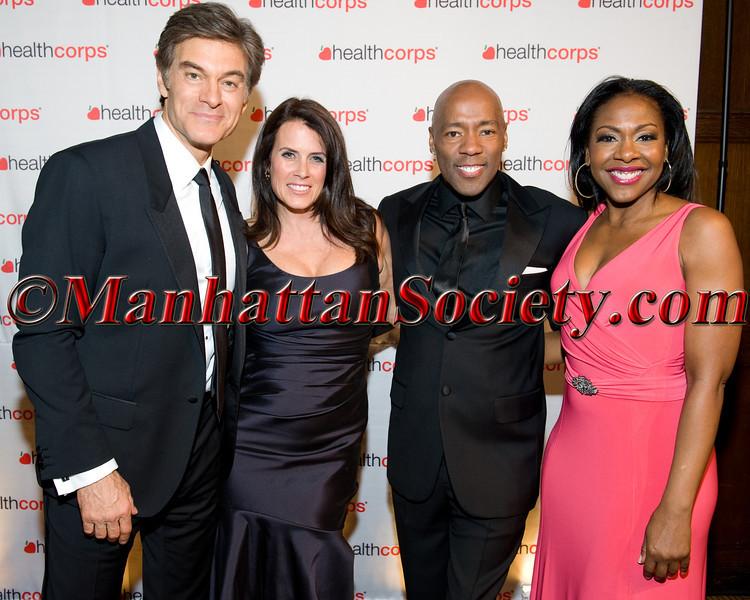 Dr  Oz, Lisa Oz,  Stepp Stewart, Maureen Brown