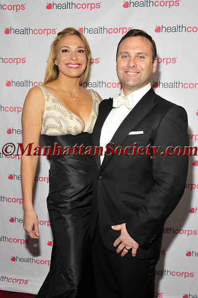 Donatella Arpaia and Dr. Alan Stewart