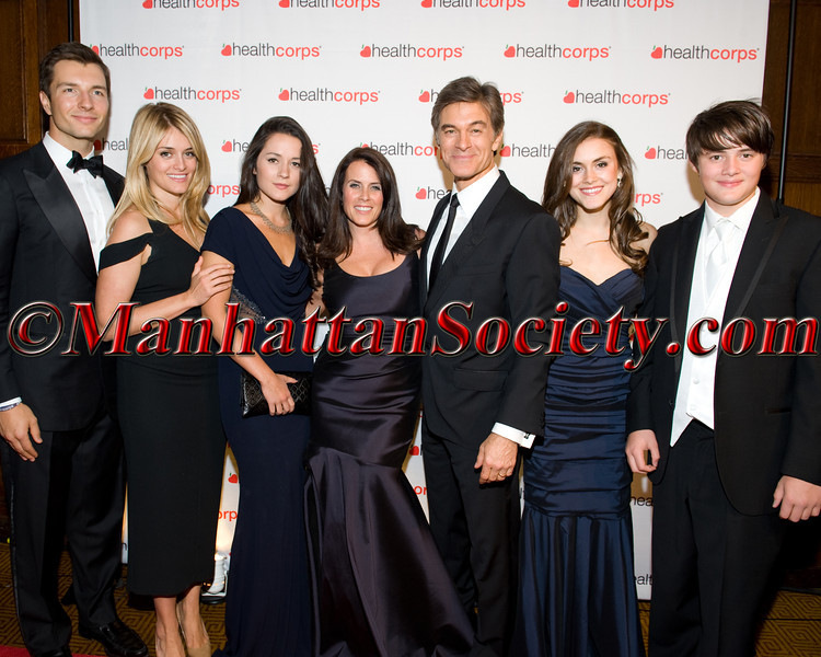 John Jovanovic, Daphne Oz, Arabella Oz, Lisa Oz, Dr  Oz, Zoe Oz, Oliver Oz