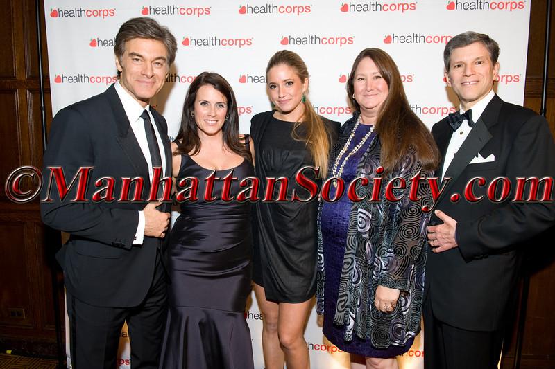 Dr  Oz, Lisa Oz,  Stephanie Schorsch, Marilyn Schorsch,  Irvin G  Schorsch III