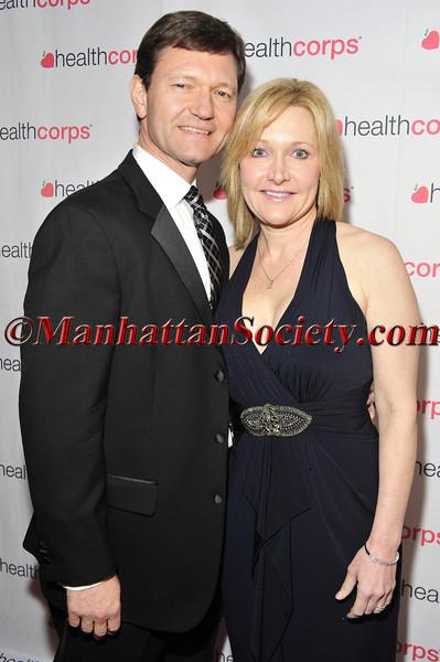 TJ Higgins and Gayle Higgins
