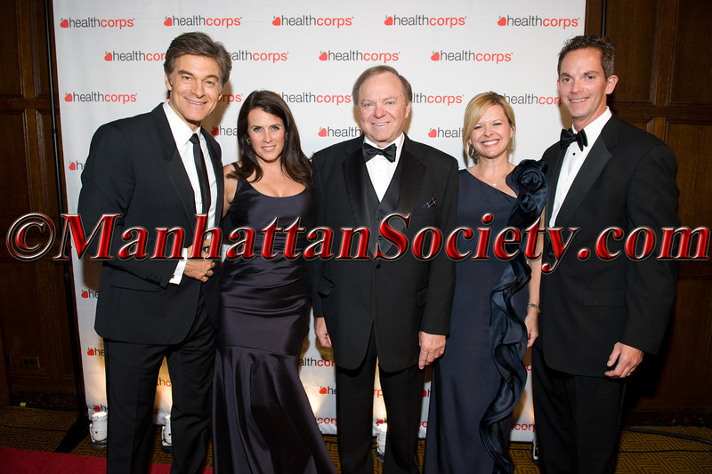 Dr  Oz, Lisa Oz, Honoree Harry Hamm, Shelly Lambertz, Gant Lambertz