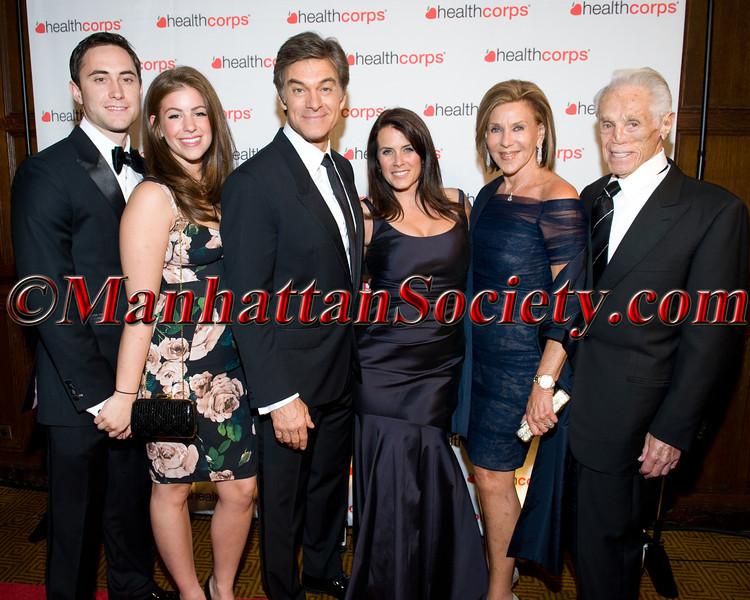 Dr  Oz, Lisa Oz, Sheila Hollo , Tibor Hollo & Family