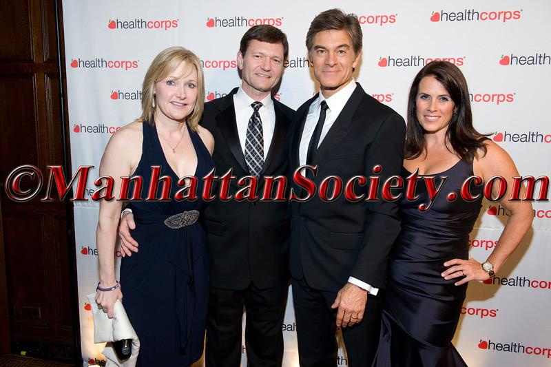 Mr & Mrs TJ Higgins, Dr  Oz, Lisa Oz