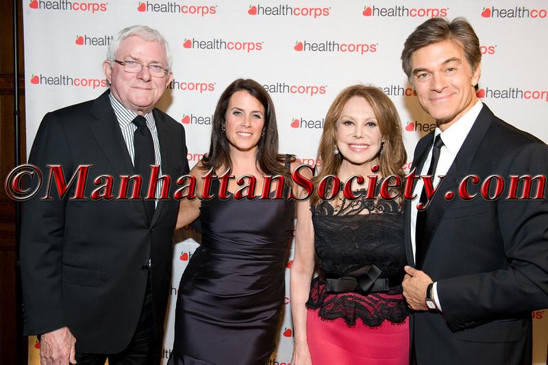 Phil Donahue, Lisa Oz,  Honoree Marlo Thomas, Dr  Oz