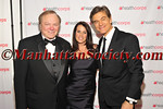 (L-R) Harold Hamm, CEO of Continental Resources and a 2013 HealthCorps Grassroots Garden Honoree , Lisa Oz and Dr. Oz, Founder of HealthCorps and TV personality arrival.