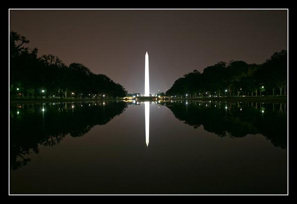 Reflection at the Washington Monument