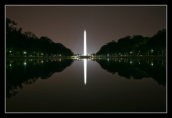 Reflection at the Washington Monument
