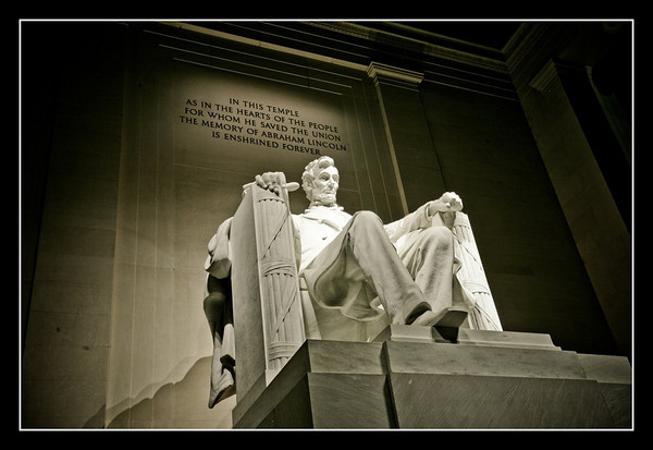 Lincoln Memorial.  Washington DC.