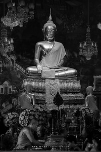 Buddhist Statue in Phra Ubosot, Wat Arun