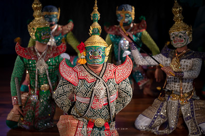 "Ravana, Khon performance ""Hanuman Presents the Ring"""