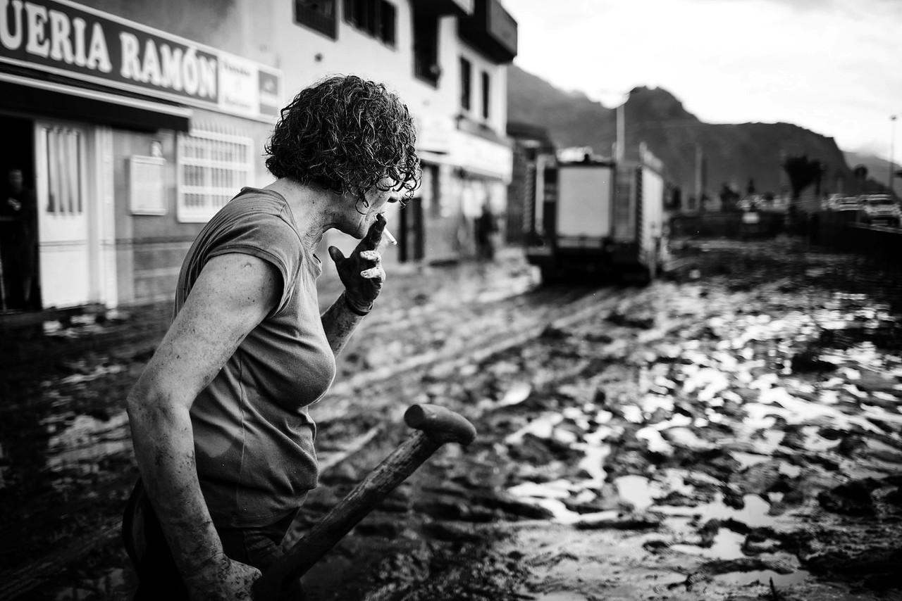 Floods in Santa Cruz de Tenerife