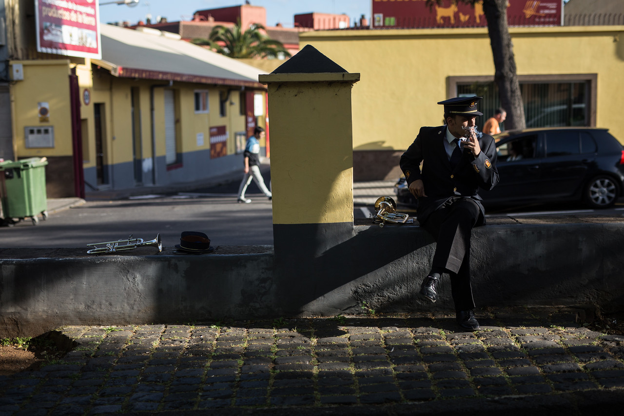 San Cristobal de La Laguna, Tenerife, Canary Islands, Spain. Wednesday, April 12, 2017. (Andrés Gutiérrez/Diario de Avisos)