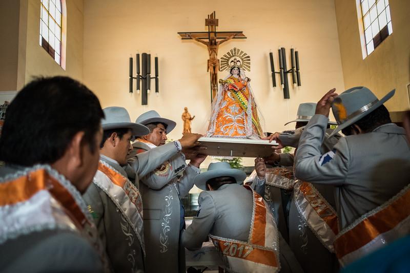 La Virgen de Urkupiña