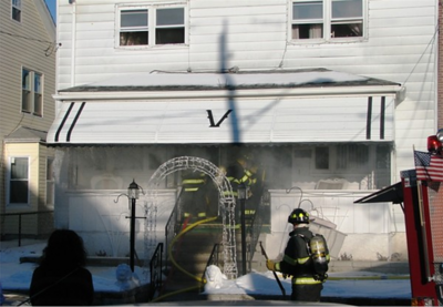 HAZLETON CITY STRUCTURE FIRE 2-16-2008 PICTURES BY ADAM BURKE