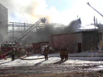 MOUNT CARMEL TOWNSHIP STRUCTURE FIRE 2-9-09