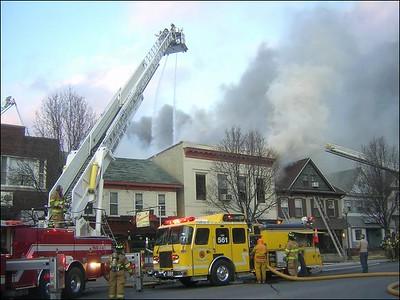 SUNBURY STRUCTURE FIRE 2-20-09