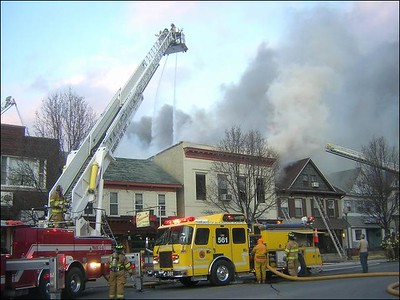 SUNBURY STRUCTURE FIRE 2-20-09