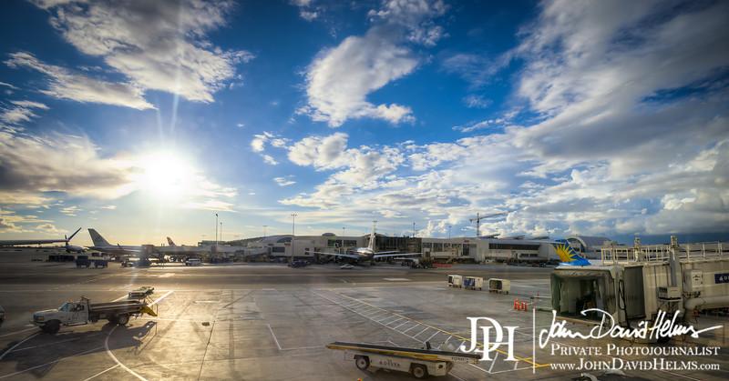 October 11, 2012 - Atlanta to Tokyo, Japan.  Photo by John David Helms.