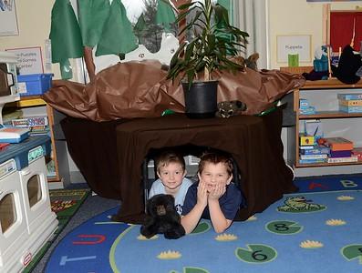 Check Out Kindergarten's Classroom Cave photos by Gary Baker