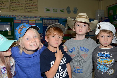 First Grade Mad Hatters photos by Gary Baker