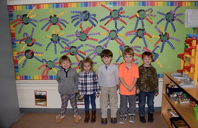 Fisher Pre-K Loves Spiders photos by Gary Baker