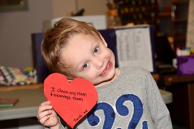Kindergarten Kindness Hearts With Mrs Maguire photos by Gary Baker