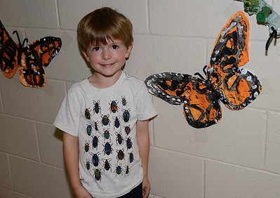 Kindergarten Monarch Mania photos by Gary Baker