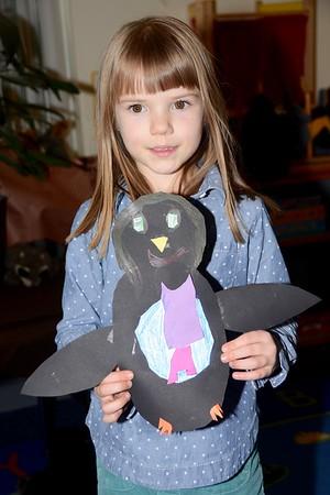 Kindergarten Penguin Pals photos by Gary Baker