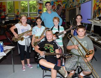Mrs Preseault's Instrumental Music Makers photos by Gary Baker